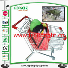 Folding Shopping Cart Trolley Tote Bag