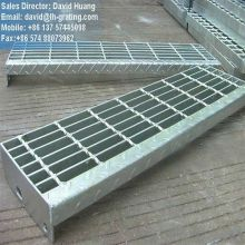 Gi Coated Staircases From Steel Grating