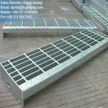 GI покрытием лестницы из стальной решетки