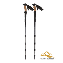 Bottom price for Alpenstock Trekking Poles Hiking Sticks with Tips and Locks export to China Hong Kong Suppliers