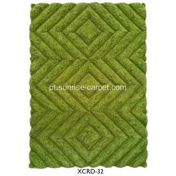 Microfiber thin yarm 3D design Carpet