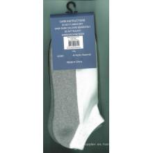 Hombres mujeres algodón calcetines deportivos con medio cojín (CS-06)