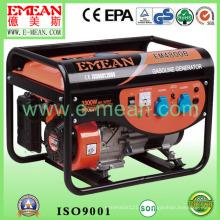 Generador trifásico de la gasolina de la gasolina del comienzo eléctrico 3kw