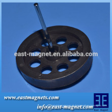 Múltiplos Pólos fabricante do rotor do motor / TDK-FBSH Certificado Propriedades magnéticas do ímã de ferrite anisotrópico radial multipolar