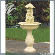 Practical British Garden Marble Water Fountain for Sale
