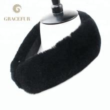 China fornecedor de Compras Online Barato pele real rex coelho gola de pele para casacos