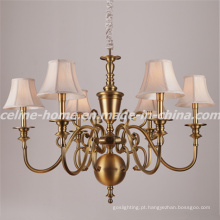 Pendurado decoração tradicional ferro lustre iluminação (SL2153-6)