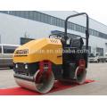 Rouleau vibrant 3 tonnes Honda gx630 Compacteurs à rouleaux vibrants (FYL-900)