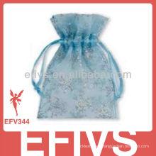 Azul Moda Jeweled Organza Bolsas En Venta