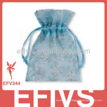 Blue Fashion Jeweled Organza Bags On Sale
