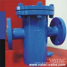 Aço fabricado Wpb / Ss304 / Ss316 / Ss316L Basket Strainer