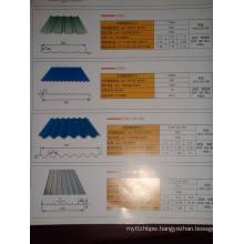 Corrugated Aluminum Board Spot 750 Corrugated Board