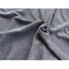 Knitting Metallic Jacquard Fabric