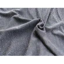 Вязание Жаккардовая Ткань Металлик