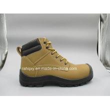 Novo design profissional Nubuck couro calçados de segurança (HQ8005)