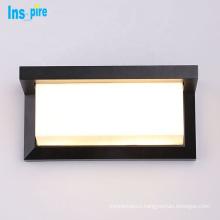 Modern waterproof adjustable 6w 10w outdoor wall lighting spotlights exterior led wall light