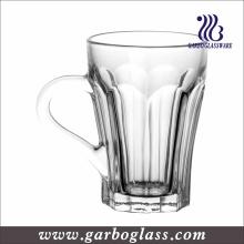 5oz Copo de chá de vidro de venda quente com alça