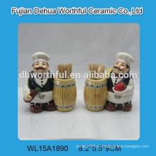 Керамический чехол для зубочистки для кухни