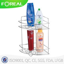 Multifuncional Metal Wire Bathroom Corner Rack