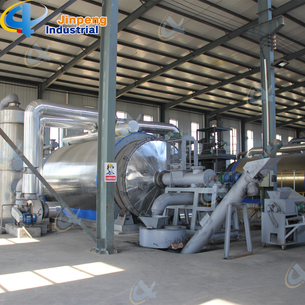 batch used tire pyrolysis machine