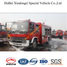 6ton нежная пена пожарного автомобиля Исузу Евро3