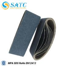 Venda al por mayor la correa que enarena del óxido de circonio usada en otros materiales