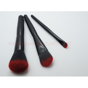 Two Tones Nylon Hair Makeup Brush Set