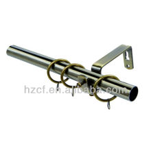 Window decoration Curtain rod window hardware supplier aluminium curtain rod metal curtain rod bracket