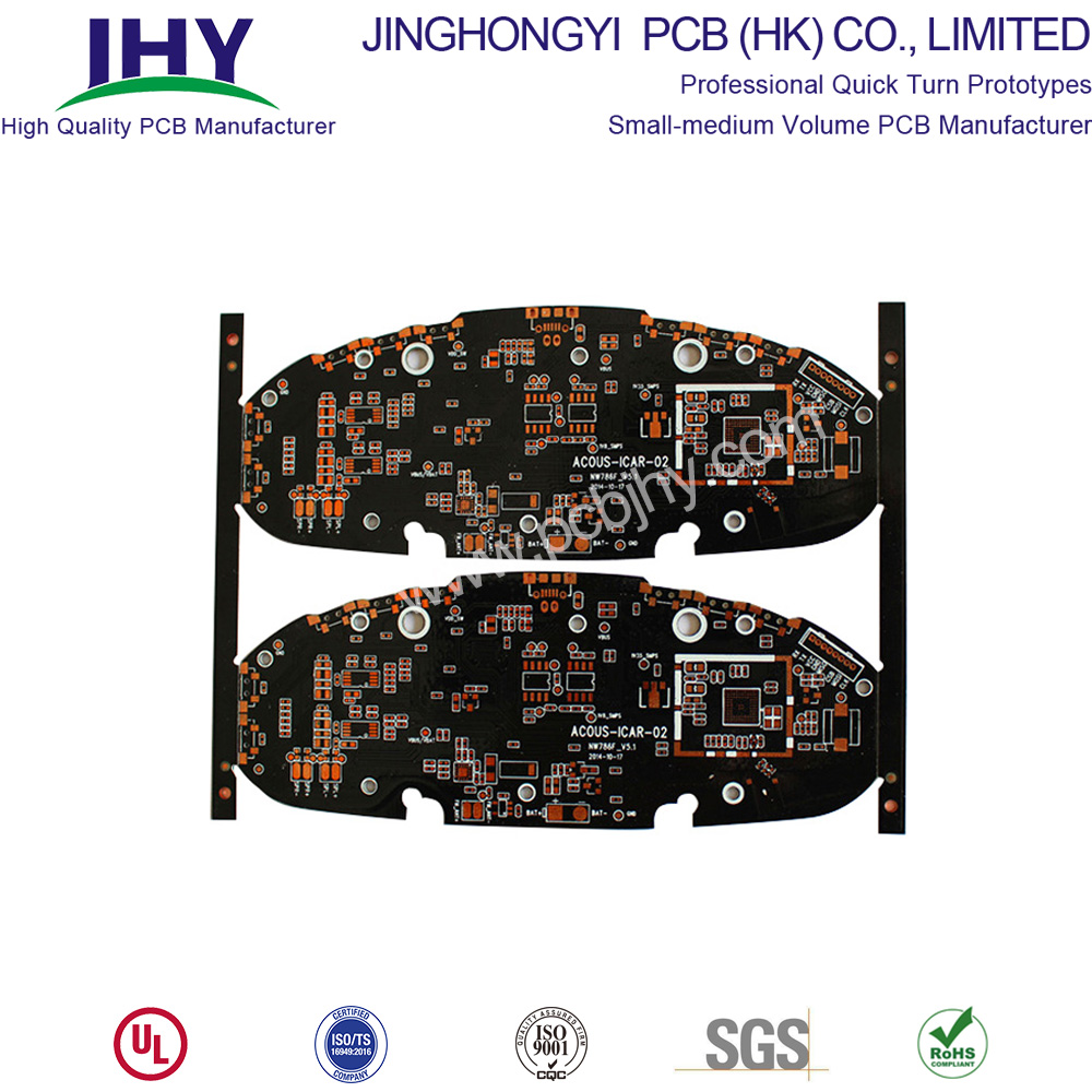 FR4 ENIG 1.0mm Double sided Rigid PCB