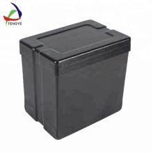 Пластиковый чехол с крышкой Жесткий ящик для инструментов и инструментов