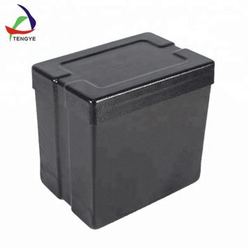 Caja de plástico con tapa Caja de almacenamiento de herramientas de seguridad dura con clips Precio de fábrica