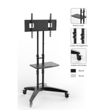 Height Adjustable LED/LCD/Plasma TV Mount Cart with DVD Rack (PSF312)