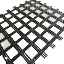 High Tensile Strength Fiberglass Geogrid For Road Construction