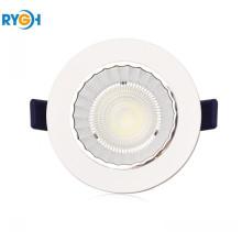 10W 80LM / W Epistar COB LED redondo abajo de luz