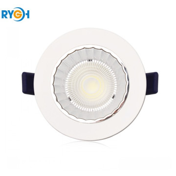 10W 80LM / W Epistar COB Okrągłe LED Down Light