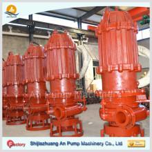 Pompe à boues submersibles à débit élevé et à débit élevé Pompe à boues submersibles à débit élevé et à débit élevé
