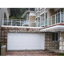 sandwich style sectional garage door