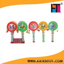 Geschenk Spielzeug Kunststoff China Rassel Trommel Candy Spielzeug