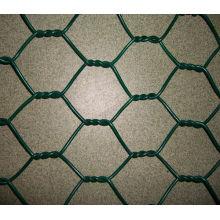 Rede de arame hexagonal galvanizado elétrico