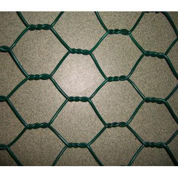 Hochwertiges PVC-beschichtetes sechseckiges Drahtnetz