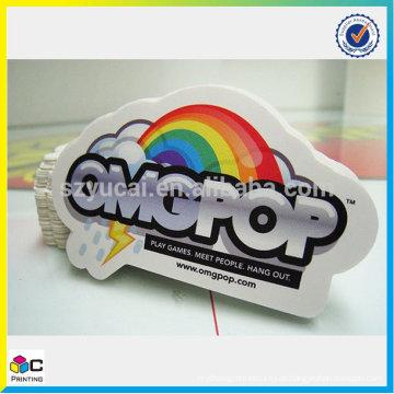 Fabrik Preis Regenbogen Folie Aufkleber in China gemacht