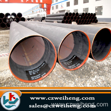 API 5L LSAW steel pipe, 5.6 to 38.1mm thickness