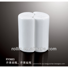 2014 coctelera elegante de la sal y de la pimienta de la forma del mango del diseño como un sistema