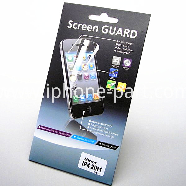 iPhone screen film package