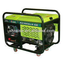 100~300A electric gasoline welding machine generator set for hot sale