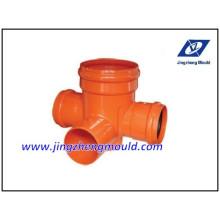 U-PVC-Entwässerungs-Fitting-System-Form überprüft von ISO