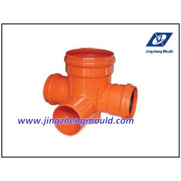 Sistema de Encaixe de Drenagem U-PVC Moldado pela ISO
