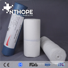 First aid different size absorbent gauze roll fabric