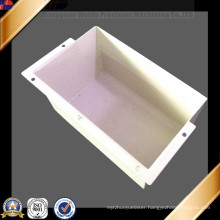 White Coat Sheet Metal Fabrication for Labeling Machine Cover