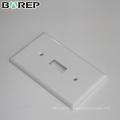 YGC-011 BAREP GFCI dispositif decora électrique personnalisé américain plaque murale